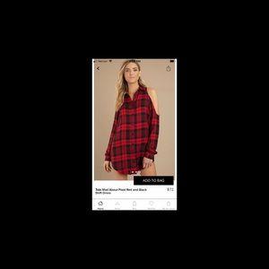 PINK Victoria's Secret Dresses - Flannel dress